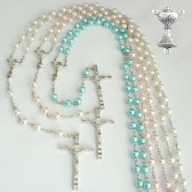Rosary Beads with Chalice Centre